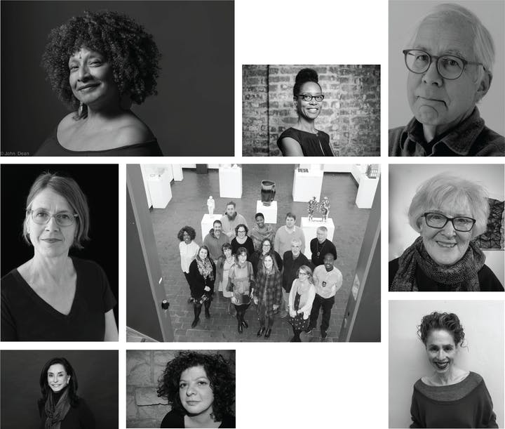 Collage of portraits of the 2020 recipients of the ACC awards