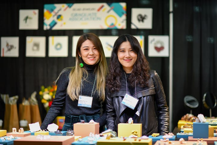 School to Market participants at the 2020 Baltimore American Craft Show