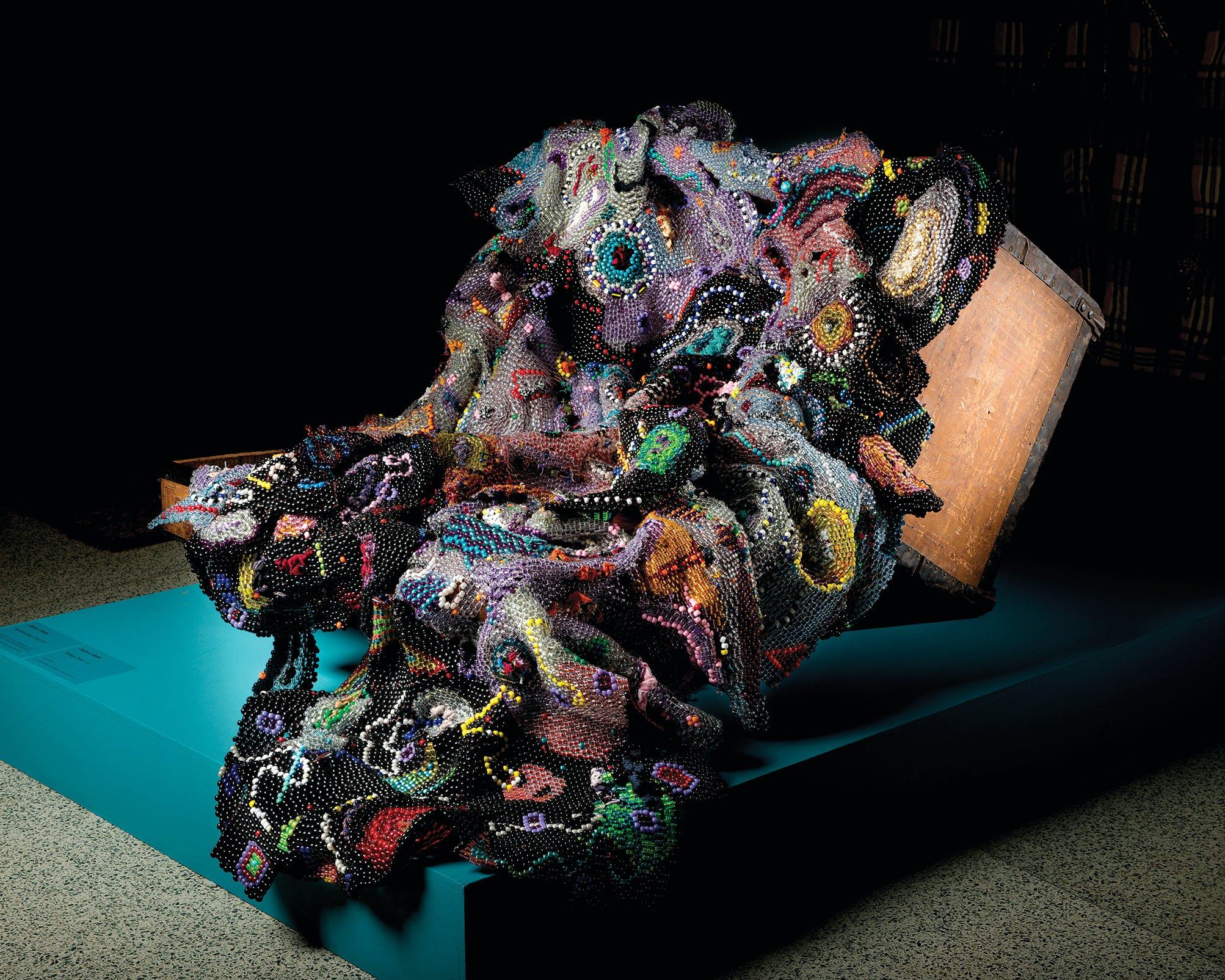 Harriets Quilt by Joyce J. Scott