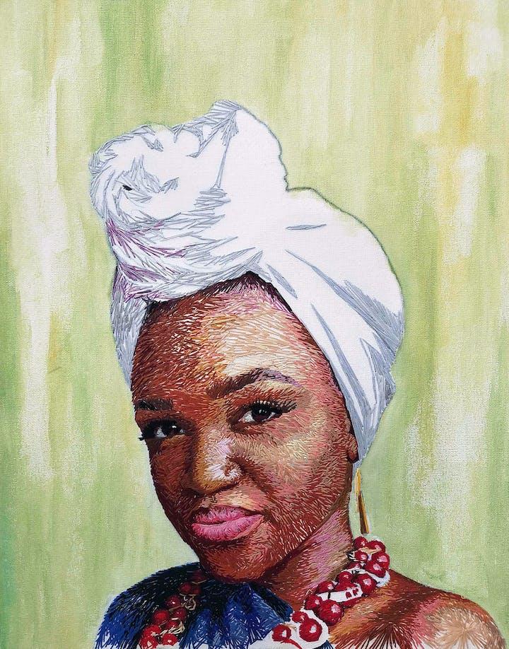 Nneka Jones Self Portrait