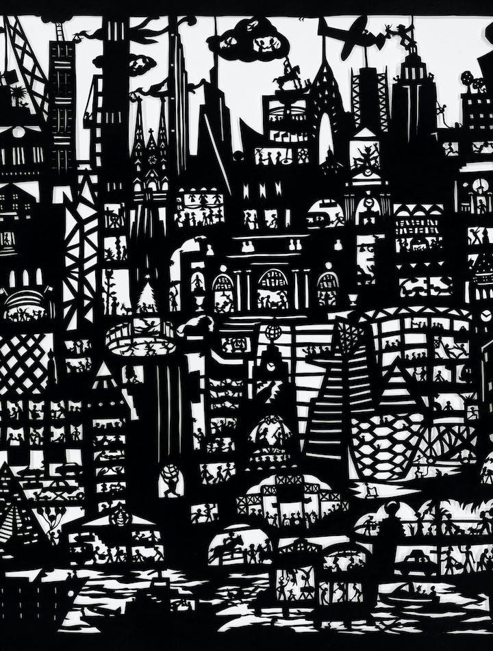 Béatrice Coron Manhattan detail