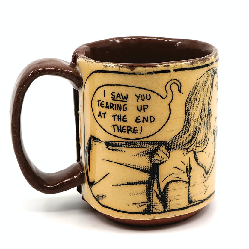Ian Petrie Tearing Up Mug 1