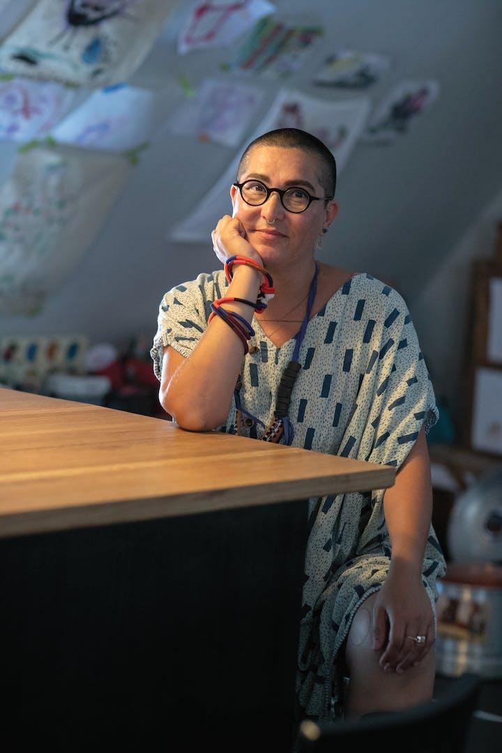 Artist designer and activist Tanya Aguiñiga