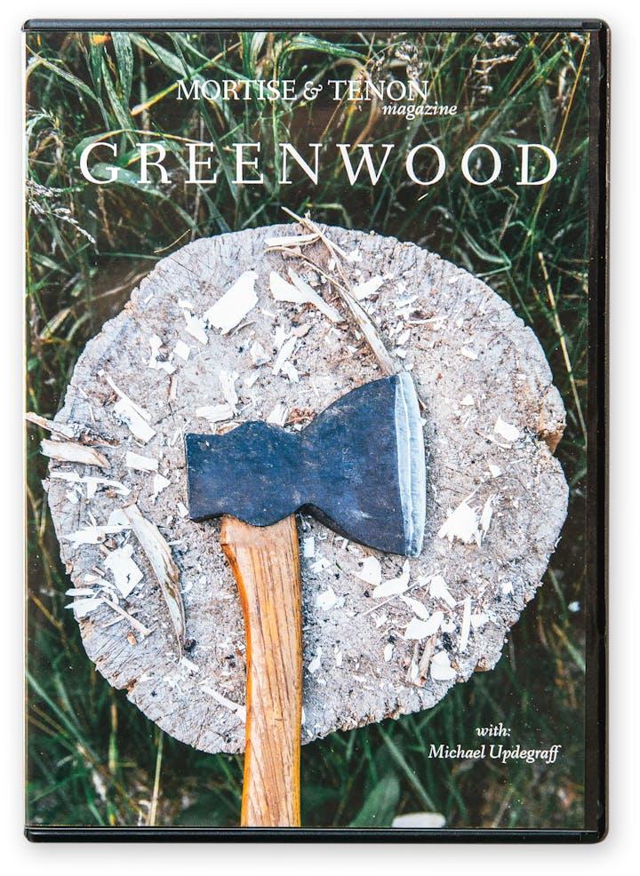 Greenwood woodworking DVD