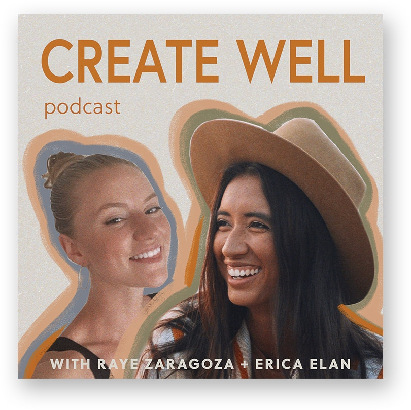 Create Well podcast logo
