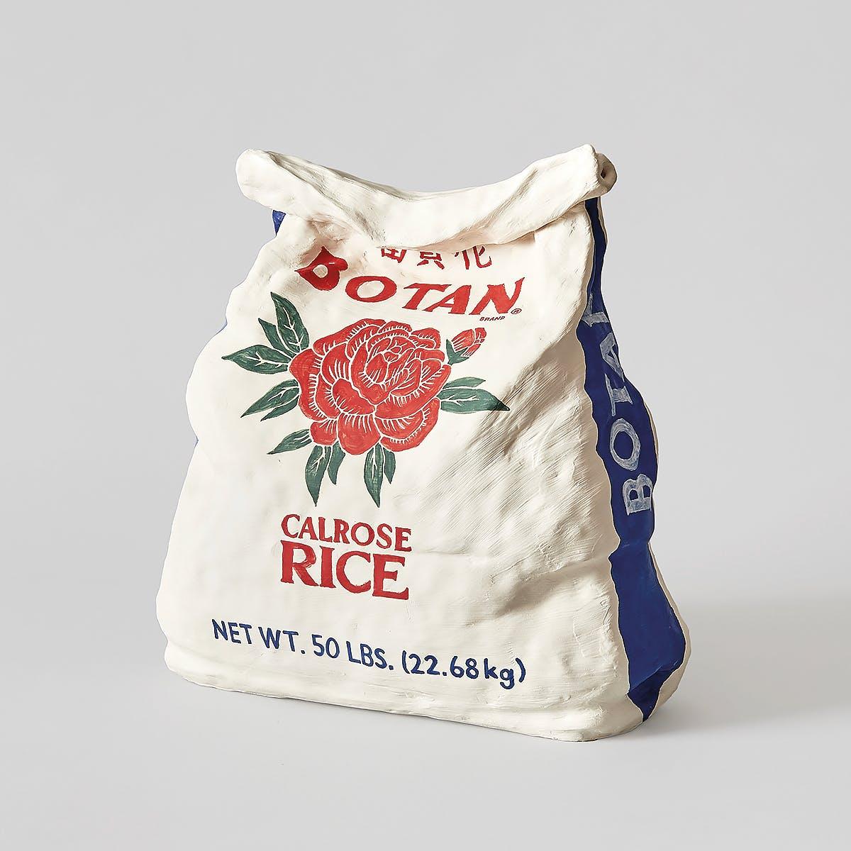 Ceramic replica of Botan Calrose Rice