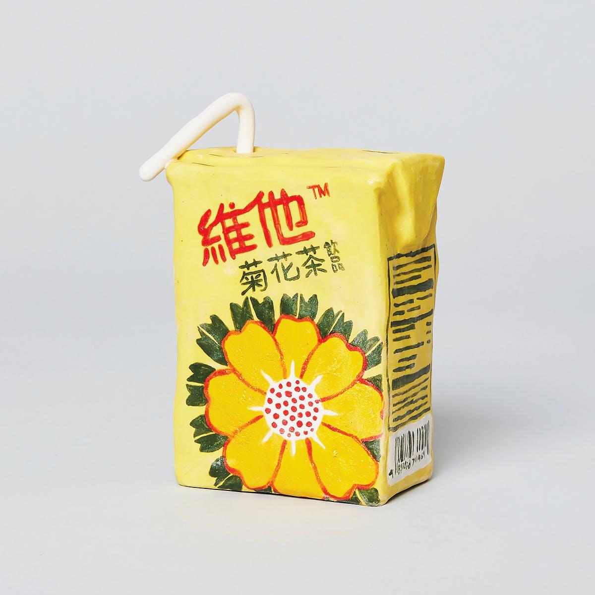 Ceramic replica of Vita Chrysanthemum Tea