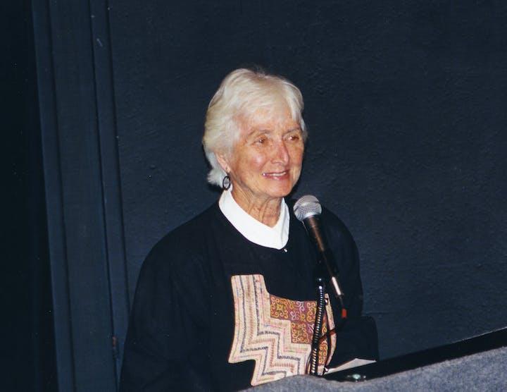 Portrait of Dorothy Gill Barnes in 1999