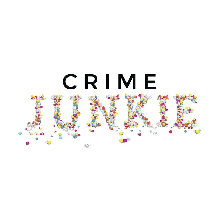 Crime Junkie podcast logo