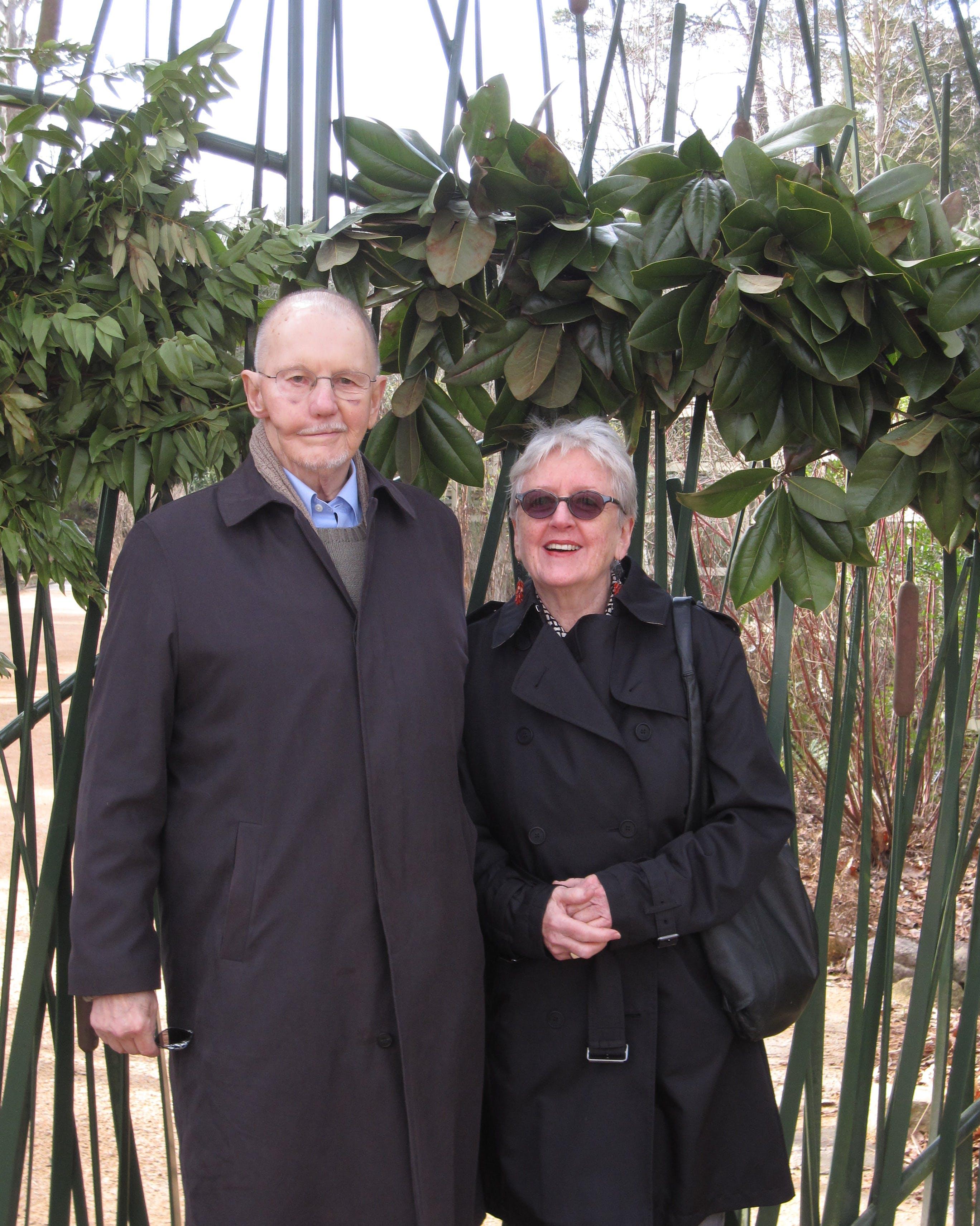 Lois Moran and Chuck Coates December 2009