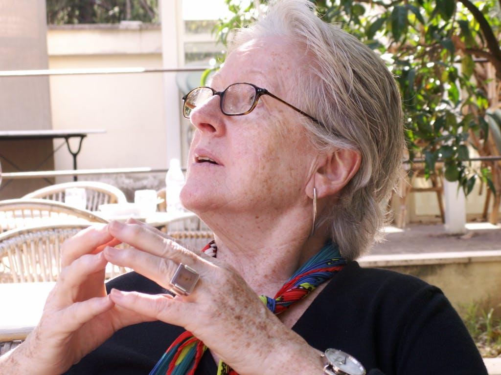 Lois Moran in Italy in 2008