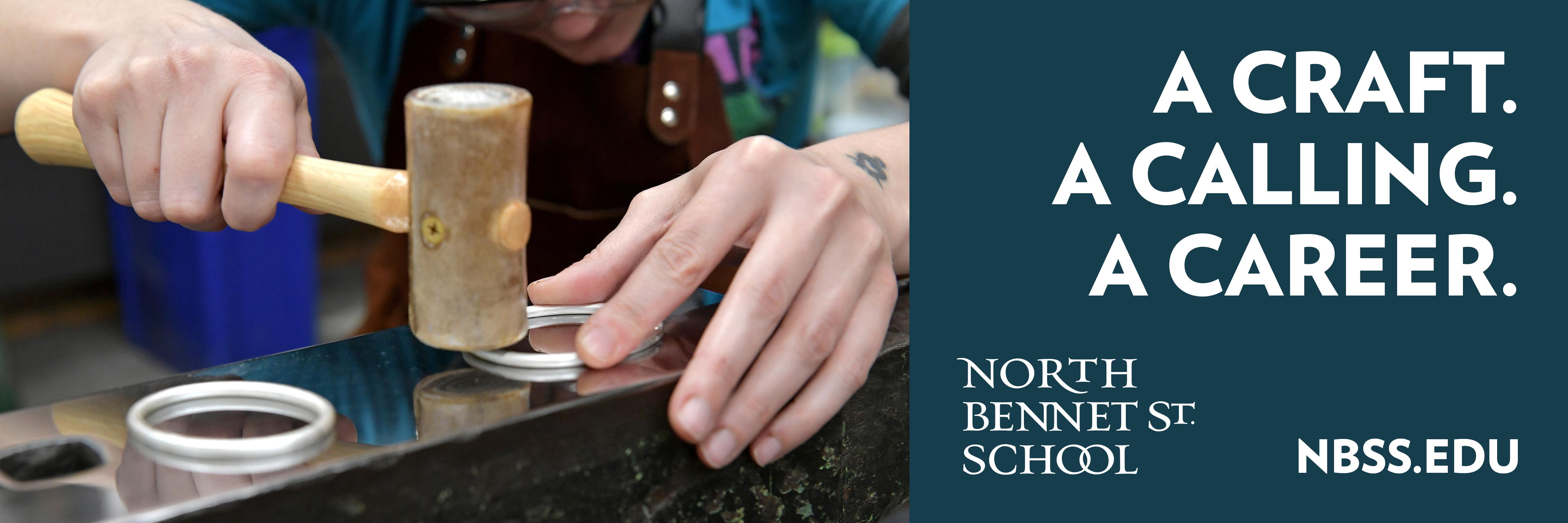 A Craft A Calling A Career North Bennett St School NBSS EDU
