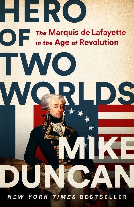 cover of hero of two worlds by mike duncan