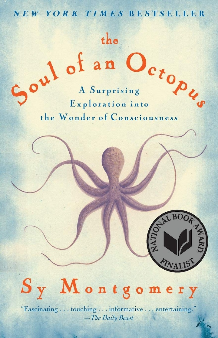 cover of the soul of and octopus bt sy montgomery