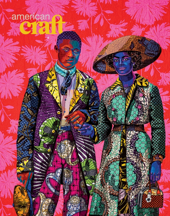 Cover of Fall 2021 issue of American Craft