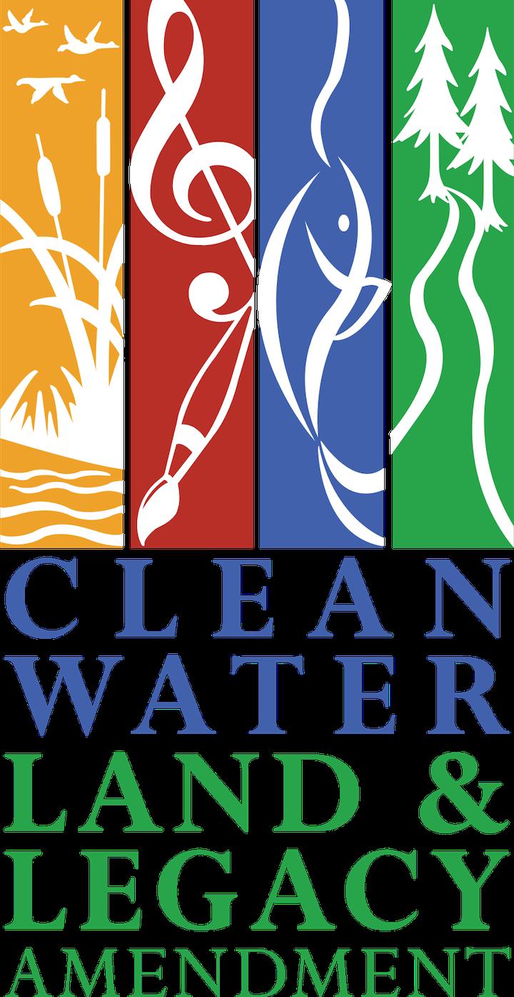clean water land and legacy amendment logos