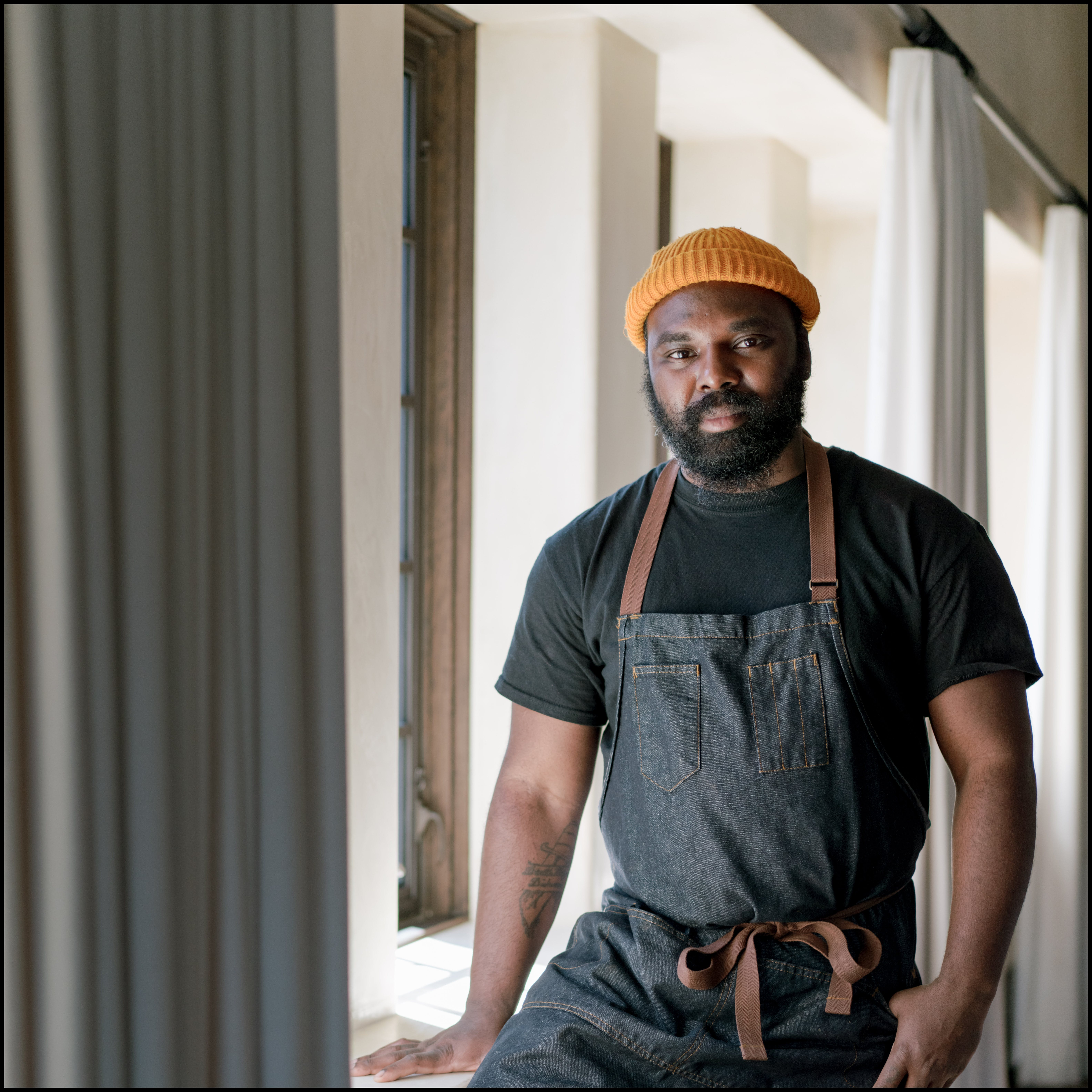 Portrait of Omar Tate from Fall 2021 American Craft Forum