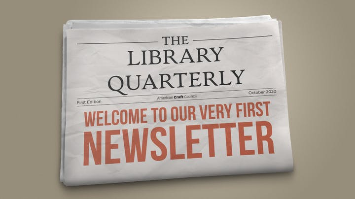 Library Quarterly Issue 1 Fall 2020