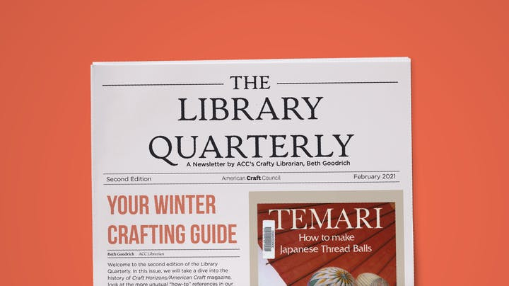 Library Quarterly Issue 2 Winter 2021