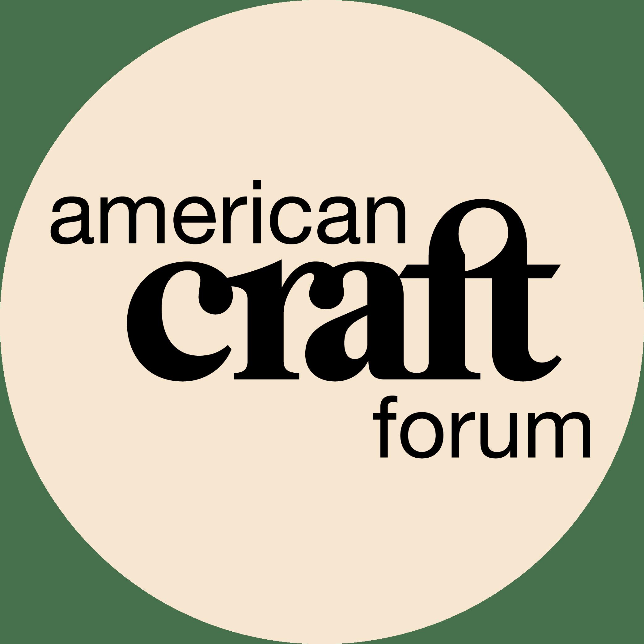 American Craft Forum logo