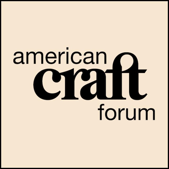 Spring 2021 American Craft Forum logo tile