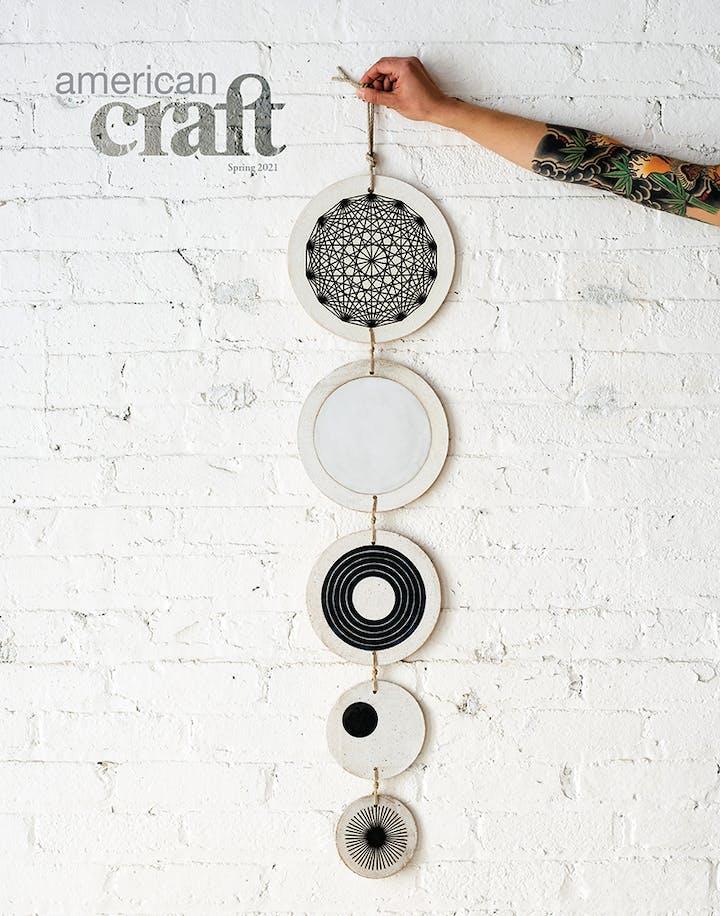 American Craft magazine Spring 2021 cover